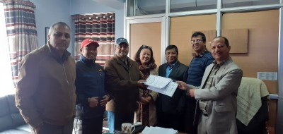 Agreement with Vishan Construction